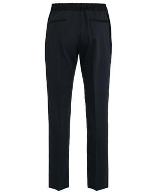 Pantalon droit en laine mélangée Eugene JOSEPH