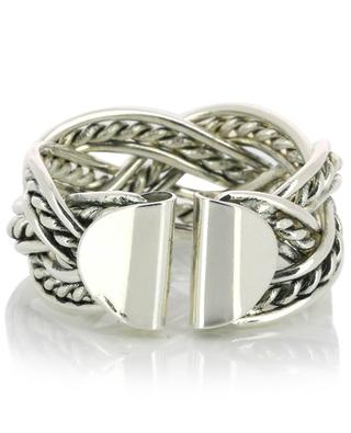 A904 open braided ring POGGI
