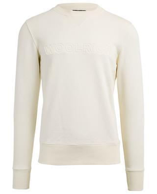 Quilted logo sweatshirt WOOLRICH