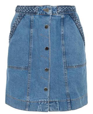 Short denim skirt TWINSET