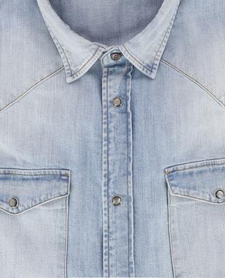Chemise en jean délavé Basic Western DONDUP