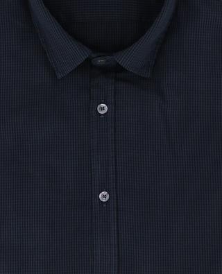 Micro gingham cotton shirt DONDUP