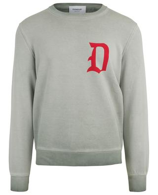 Washed out cotton sweatshirt DONDUP