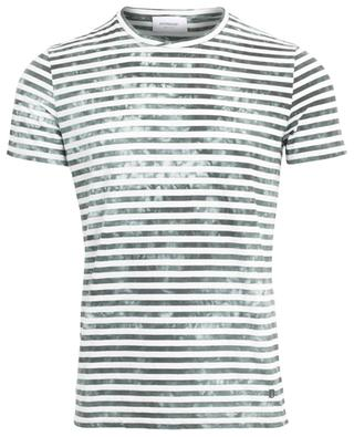 Gestreiftes T-Shirt aus Baumwollmix DONDUP