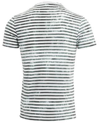 T-shirt rayé en coton mélangé DONDUP