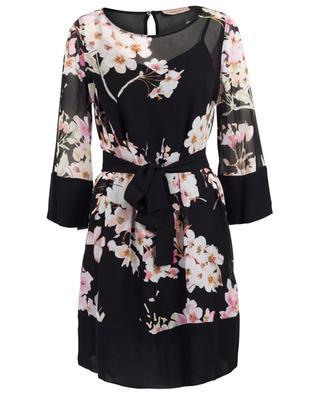 Robe courte ornée de fleurs de cerisier TWINSET