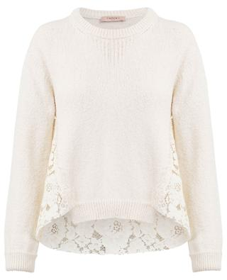 Pull avec broderies TWINSET