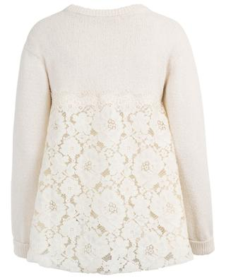 Jumper with embroideries TWINSET