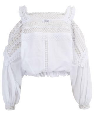 Curi off-shoulder blouse with guipure CHARO RUIZ IBIZA