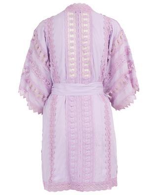 Kimono en coton et guipure Fusa CHARO RIUZ IBIZA