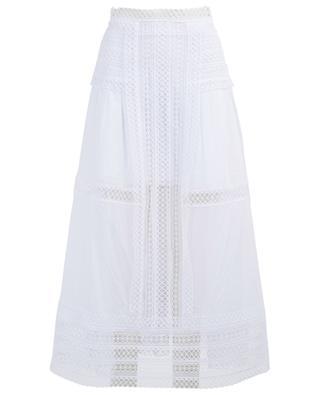 Kela long guipure embellished skirt CHARO RUIZ IBIZA