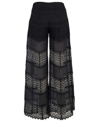 Pantalon large en coton et guipure Zaira CHARO RIUZ IBIZA