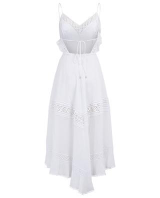 Sabine long cotton and guipure dress CHARO RIUZ IBIZA