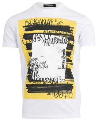 Printed cotton tee DSQUARED2