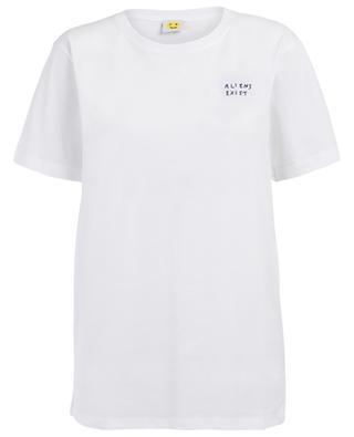 T-shirt en coton Aliens Exist YEAH RIGHT NYC
