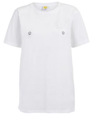 T-shirt en coton Smiley Nips YEAH RIGHT NYC