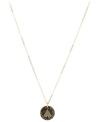 Le Temple medal embellished necklace LOVELY DAY