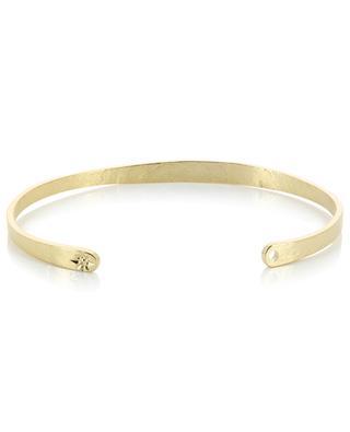 Gravierter Armreif aus goldenem Metall L'Étoile LOVELY DAY