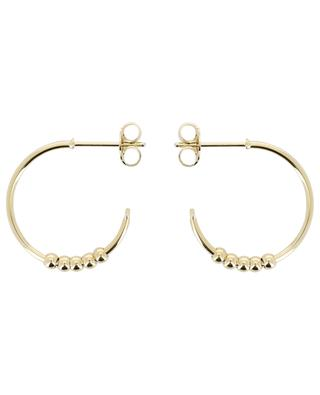 Art'y Rock golden hoop earrings LOVELY DAY