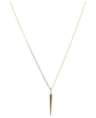 Funky 1 Cone long golden necklace LOVELY DAY