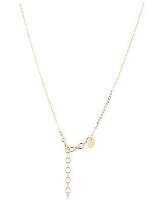 Goldene lange Halskette Funky 1 Cone LOVELY DAY