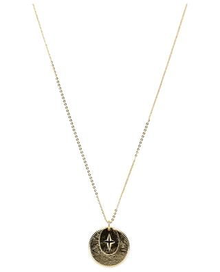 L'Éclat long golden metal necklace LOVELY DAY