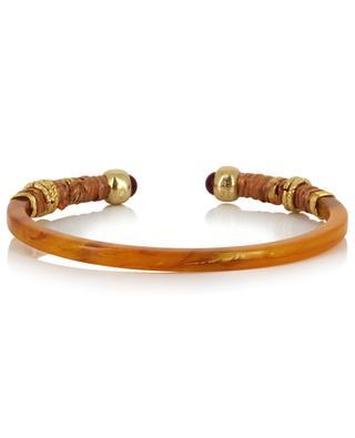 Armreif aus Acetat und goldenem Metall Sari GAS BIJOUX
