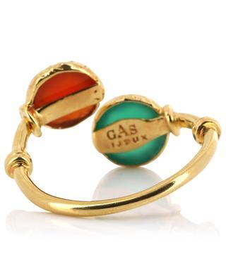 Offener goldener Ring Duality Serti GAS BIJOUX