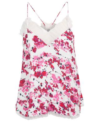 Dasher floral lingerie top IRO