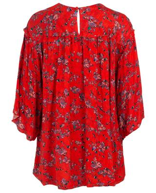 Splendid relaxed eylet and flower print top IRO