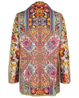 Long silk blend blazer ETRO