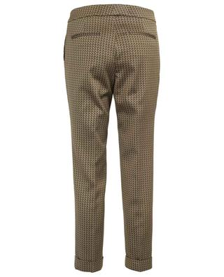 Jacquard straight cropped trousers ETRO