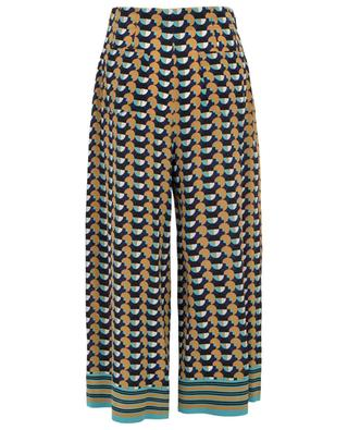 Graphic print wide-leg silk trousers ETRO