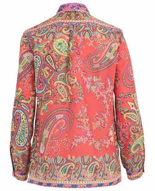 Paisley printed ramie shirt ETRO