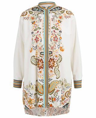 Langes Hemd aus Baumwolle mit Print ETRO