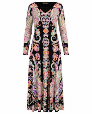 Paisley print long dress ETRO