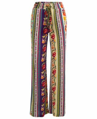 Printed viscose trousers ETRO