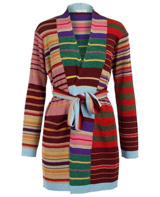 Striped cardigan in metallic knit ETRO