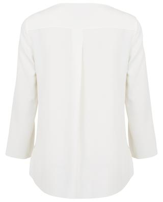 Memphis blouse with scalloped sleeves AKRIS PUNTO