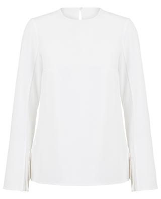 Breezy trumpet sleeve blouse AKRIS PUNTO