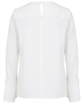 Breezy trumpet sleeve blouse AKRIS PUNTO