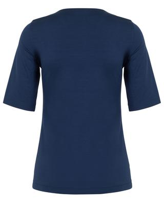 Square neck jersey top AKRIS PUNTO