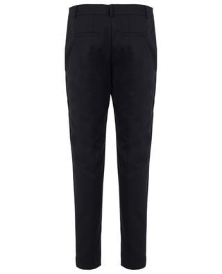 ... Fabia slim fitting cotton blend trousers AKRIS PUNTO 8699d303d2a