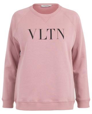 Sweat-shirt en coton imprimé VLTN VALENTINO