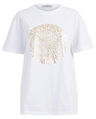 T-shirt boyfriend imprimé logo Vertigo VALENTINO