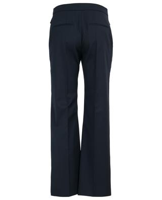 Golden V detail straight wool trousers VALENTINO