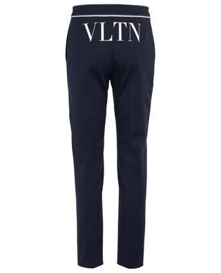 VLTN crepe cigarette trousers VALENTINO