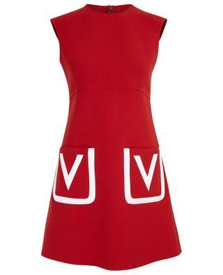 Virgin wool short dress VALENTINO