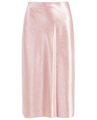 Straight satin skirt VINCE