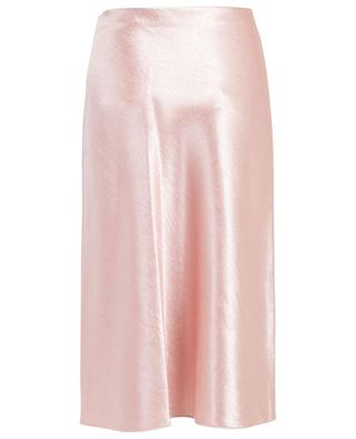 Straight satin skirt VINCE